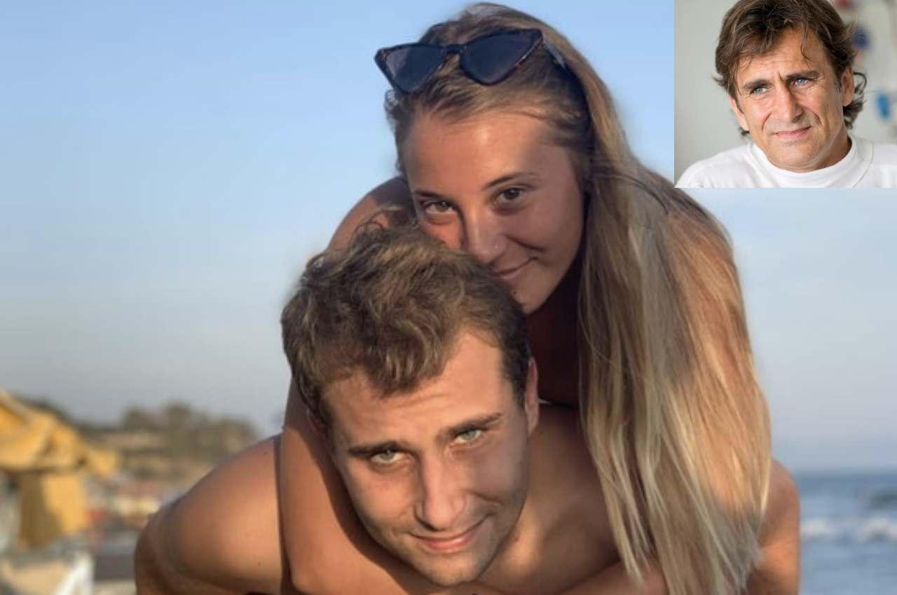 Alex Zanardi, il figlio Niccolò innamorato della fidanzata Martina