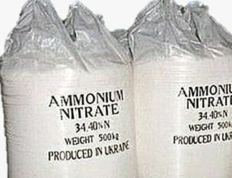 Nitrato d'ammonio