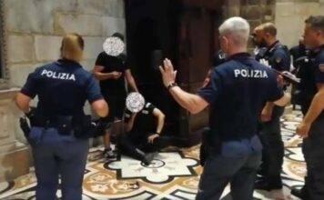 Egiziano armato sequestra vigilante nel Duomo di Milano: poliziotto lo blocca VIDEO