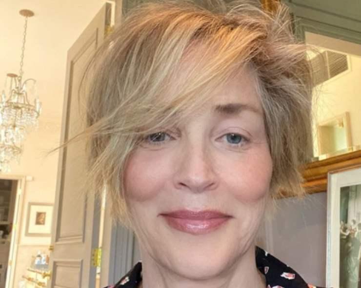 Sharon Stone, mia sorella malata di Covid, colpa uno di voi