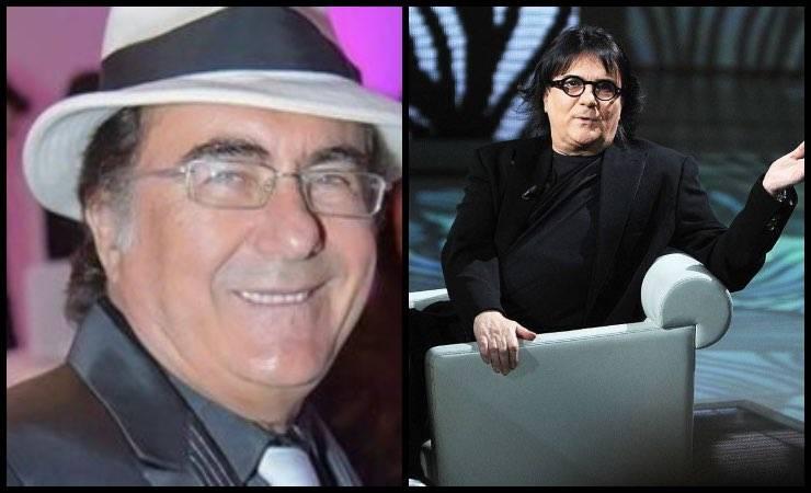 """Albano Carrisi e Renato Zero: quel gesto d'amore """"cucito addosso"""""""