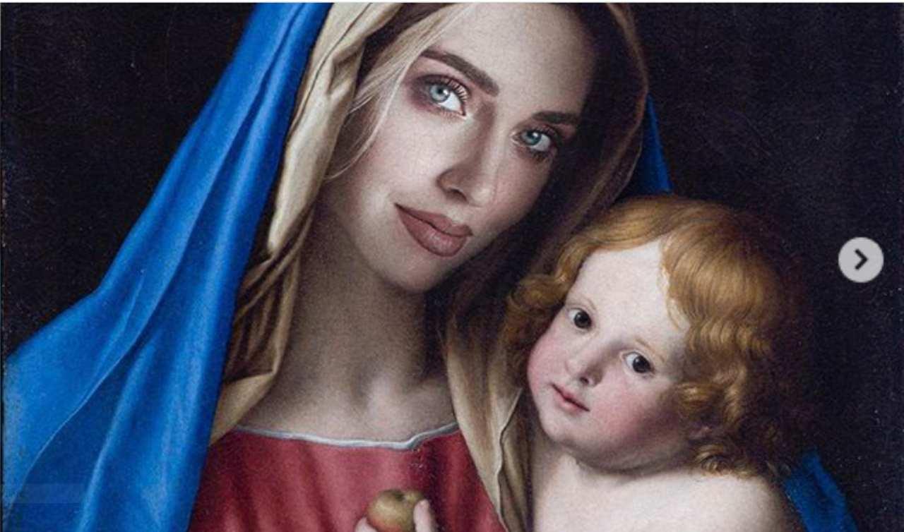 Ferragni come la Madonna su Vanity Fair, il Codacons la denuncia