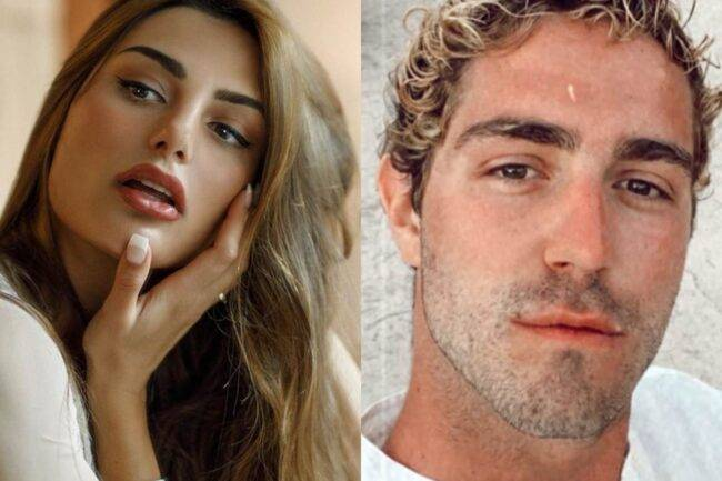 Francesca Pepe e Tommaso Zorzi (fonte Instagram @franceskapepe e @tommasozorzi)