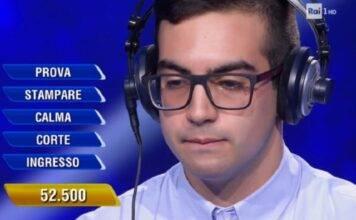 Mario Rosatone, chi è il campione dell'Eredità? Età, università