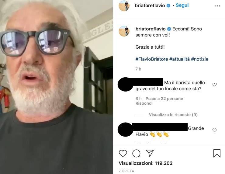 """Flavio Briatore, il ritorno dopo il Covid-19: """"Anche questa passerà"""""""