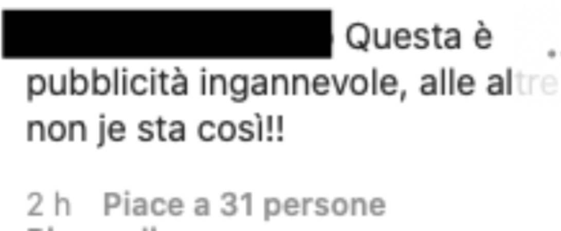 """Elisabetta Canalis l'intimo che stende i fan: """"pubblicità ingannevole"""""""