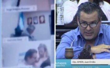 Camera dei deputati argentina: si dimette dopo un bacio scappato in diretta