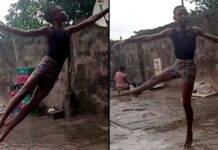 Ballava scalzo nella sua Nigeria, ora si esibisce a New York - VIDEO