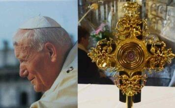 Spoleto, uno sfregio a Papa Wojtyla: rubata reliquia con gocce del suo sangue