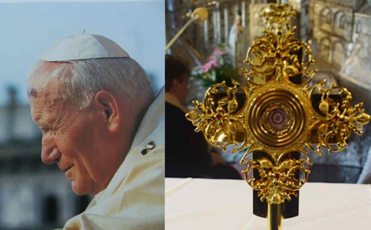 Sfregio a Papa Wojtyla: rubata reliquia con gocce del suo sangue