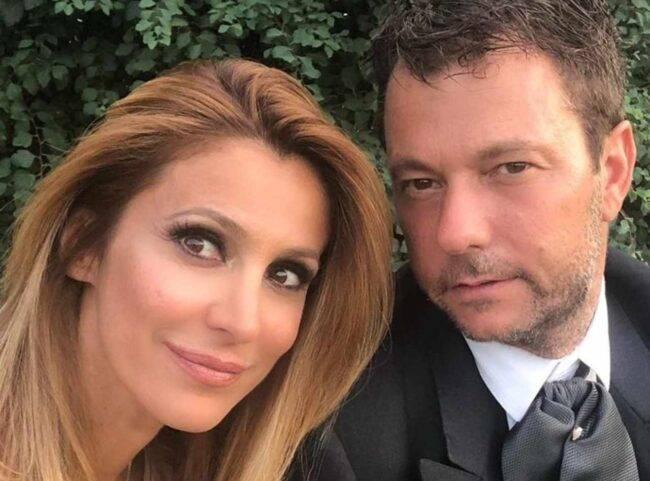 Adriana Volpe e il marito (fonte Instagram @adrianavolpereal)