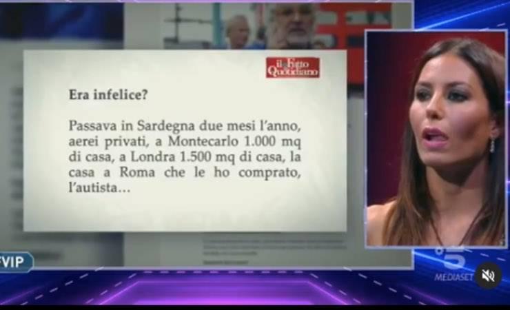 """Elisabetta Gregoraci tra Briatore e Petrelli: """"qua vomito tutto"""""""