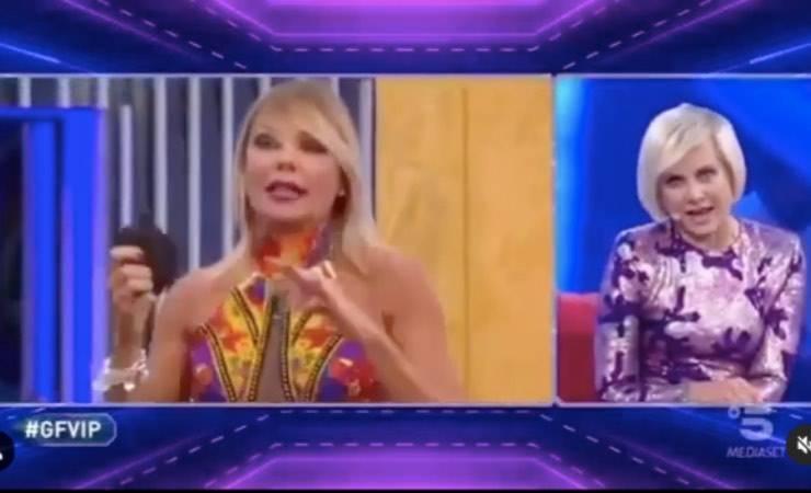 """Antonella Elia GF VIP: """"Non fare la coatta, quando esci mi vuoi menare"""""""