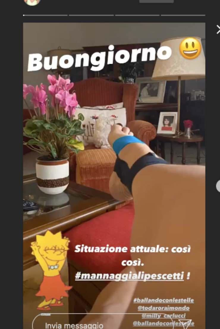 Elisa Isoardi piccolo incidente: a rischio Ballando con le stelle?