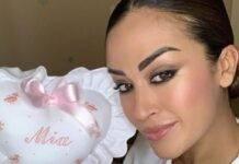 Giorgia Palmas, la sicurezza al primo posto: la dolce scelta per Mia