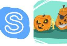 Skype Halloween