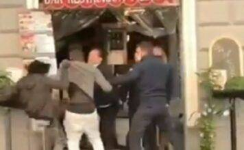 Immigrati aggrediscono i clienti di un ristorante in zona Termini (VIDEO)