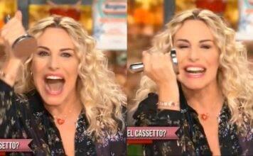 """Antonella Clerici: urla incontenibili durante la diretta di """"E' sempre mezzogiorno"""""""