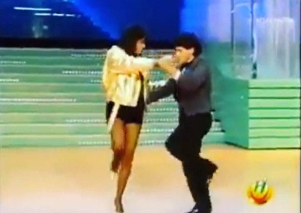 Sabrina Salerno e Maradona