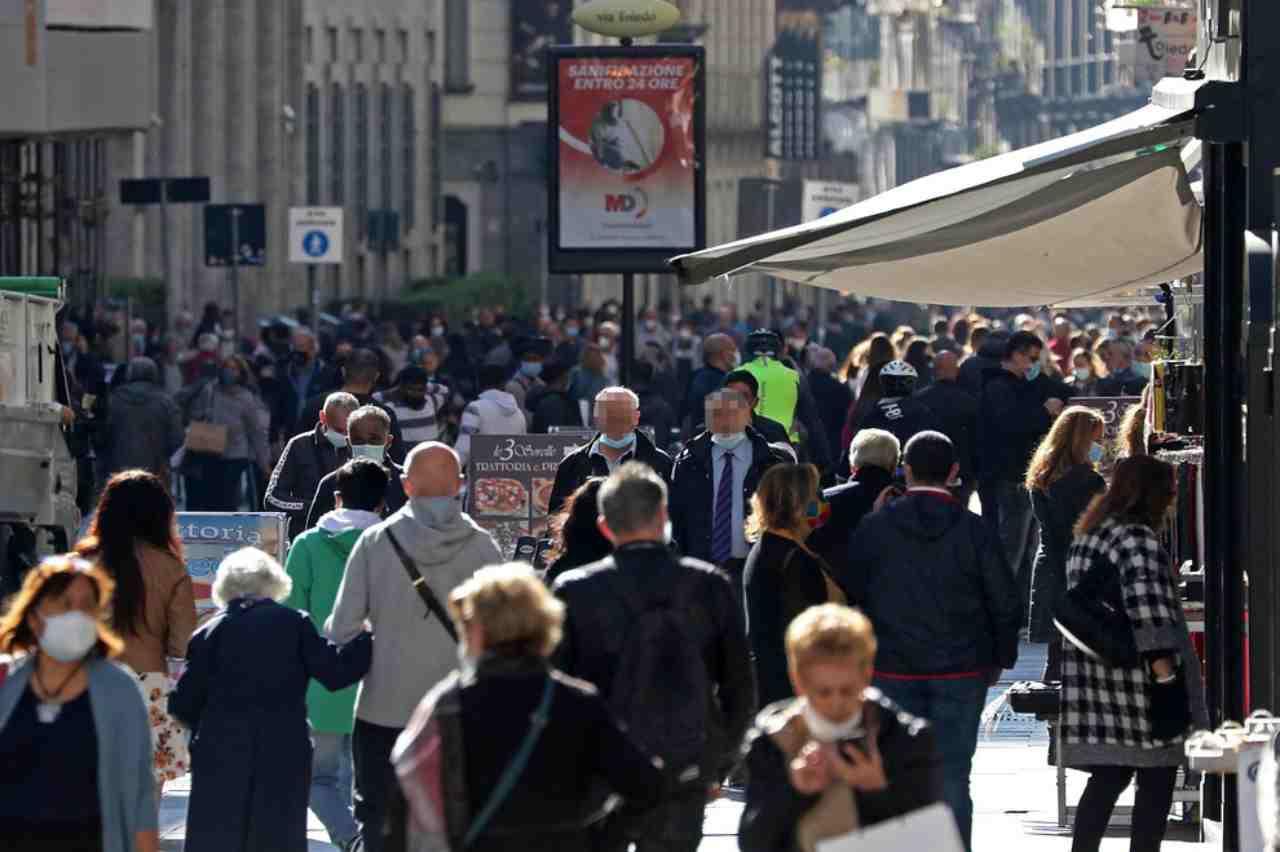 Napoli folla