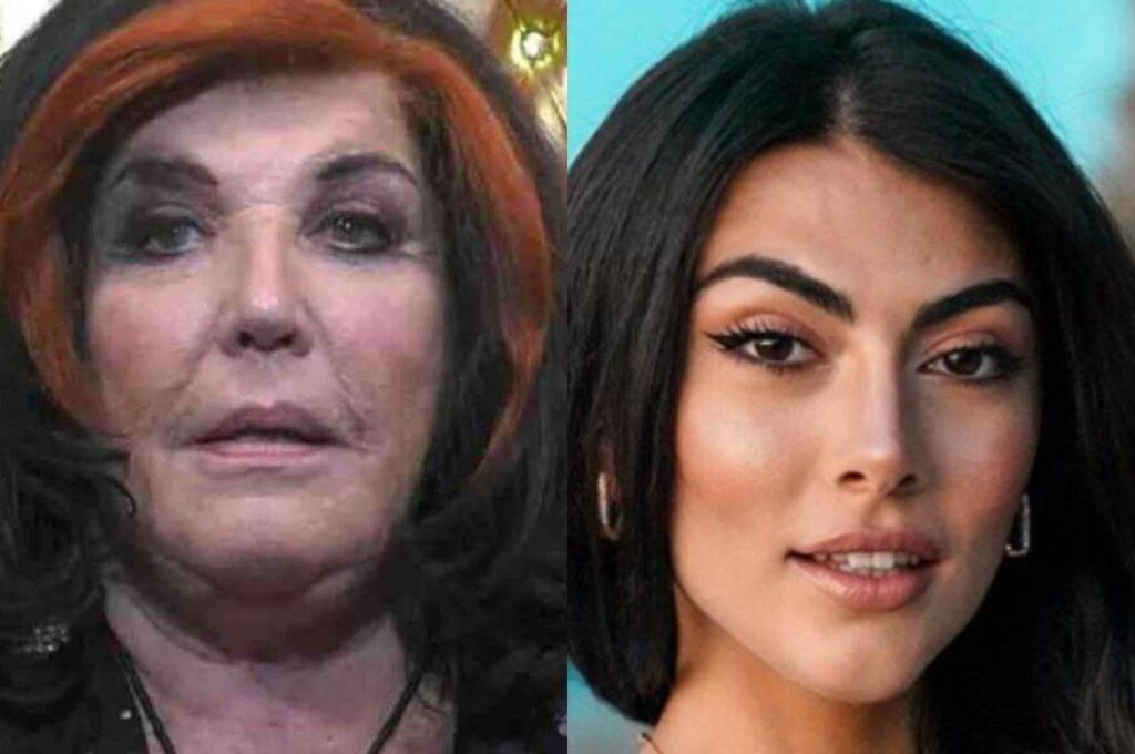 Patrizia De Blanck e Giulia Salemi