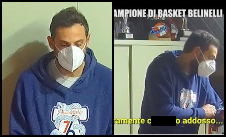 """Marco Belinelli """"Mi sto ca****o addosso"""": sequestro-scherzo a Le Iene"""