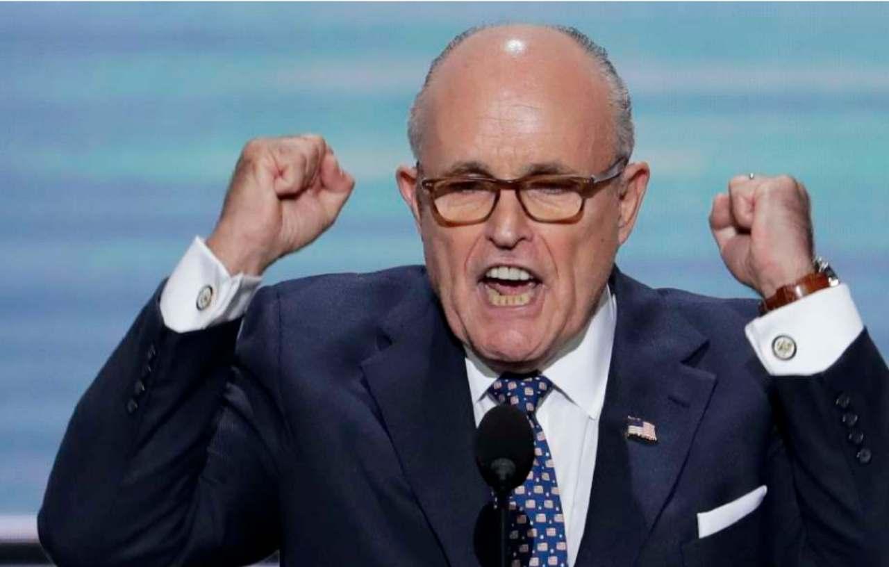 Covid: Cnn, Rudy Giuliani in ospedale a Washington