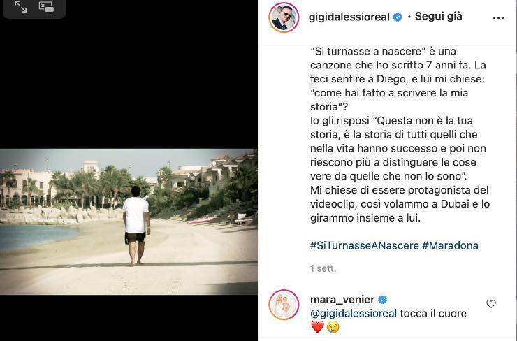 Gigi D'Alessio, il ricordo di quell'incontro: la commozione di Mara Venier