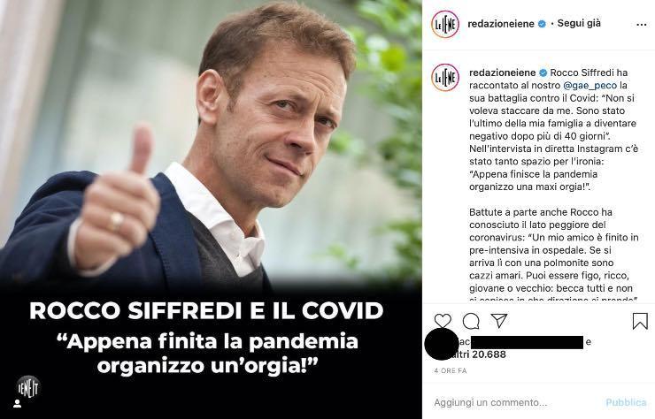 """Le Iene, Rocco Siffredi dopo il Covid-19: """"Non ho mai smesso..."""""""