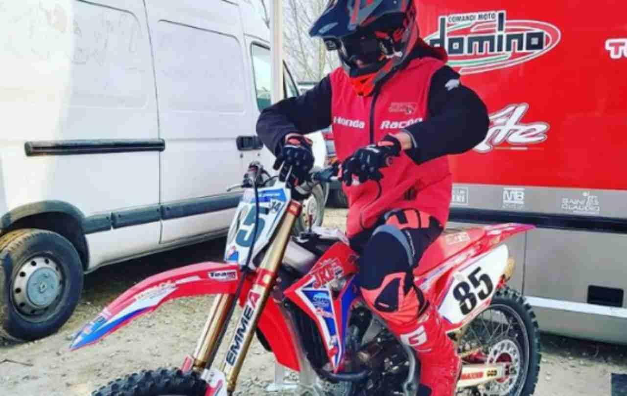 Morto Sebastian Fortini, promessa del motocross: schianto fatale in allenamento