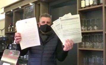 Riapre il suo bar per pagare i debiti: multato tre volte