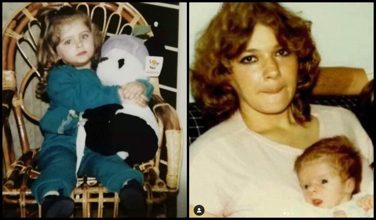 Qui una bambina tra le braccia della mamma, oggi un'ex Bonas: chi è?