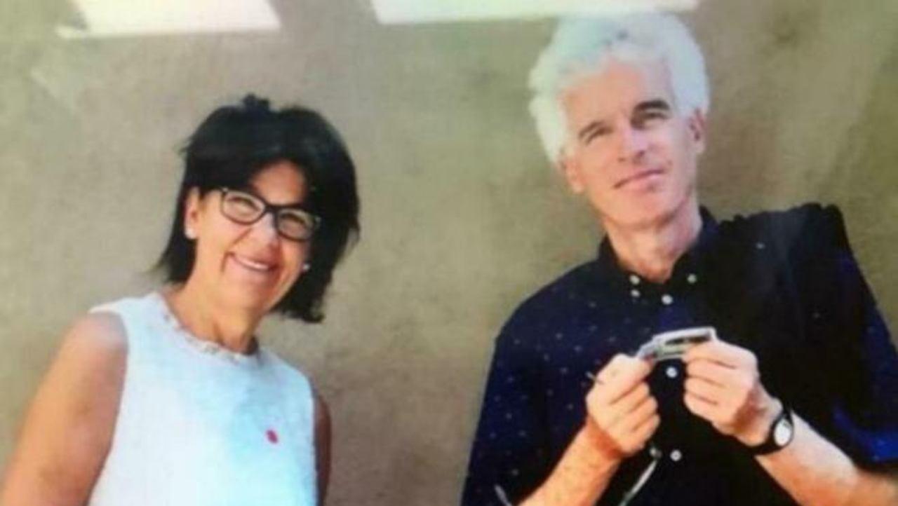 Peter Neumair e Laura Perselli