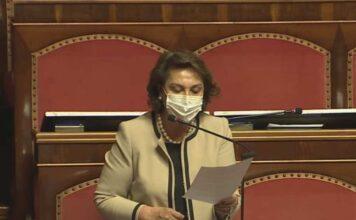 """Crisi di Governo, le parole della Lonardo: """"Il paese richiede governabilità"""""""