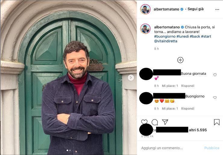 """Alberto Matano, tutti aspettavano questo momento: """"Chiusa la porta..."""""""