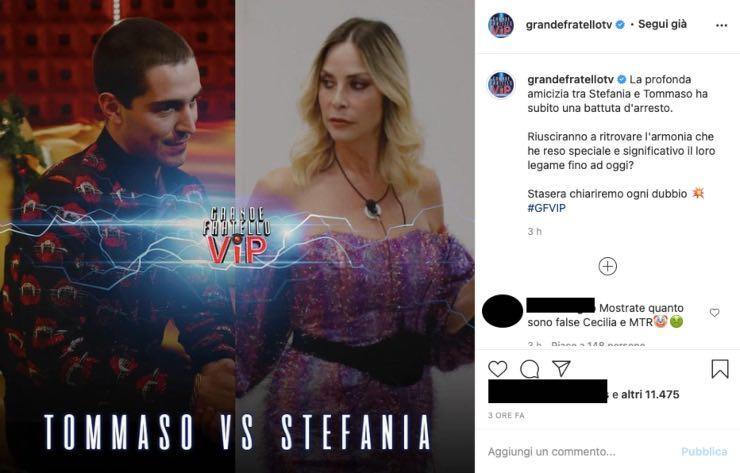 GF VIP, è gelo tra Zorzi e la Orlando: un abbraccio può sistemare tutto?