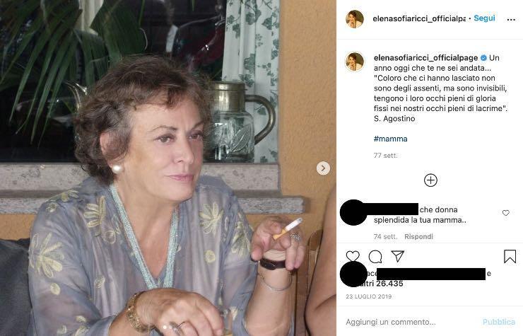 """Elena Sofia Ricci """"occhi pieni di lacrime"""": quel commovente ricordo"""