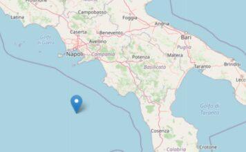 Terremoto in mare sul versante tirrenico: interessata la costa calabra