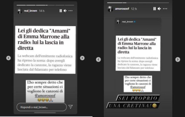 Emma Marrone, la dedica non fa effetto: lasciata in diretta