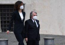 Renato Brunetta e la sua fidanzata