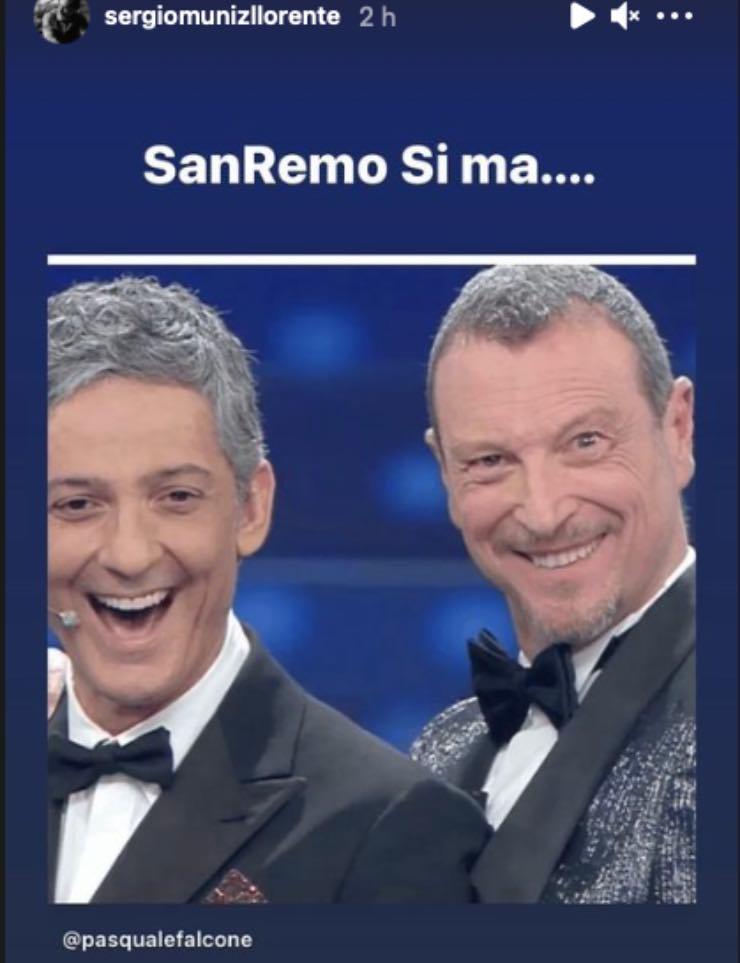 """Sergio Muniz """"Sanremo sì ma…"""": la star prende posizione nel caos"""