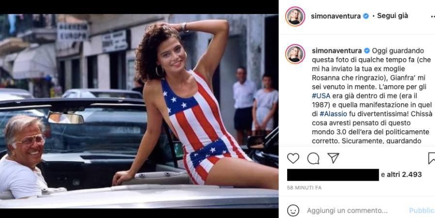 """Simona Ventura piange l'amico scomparso: """"pallide e brutte imitazioni"""""""
