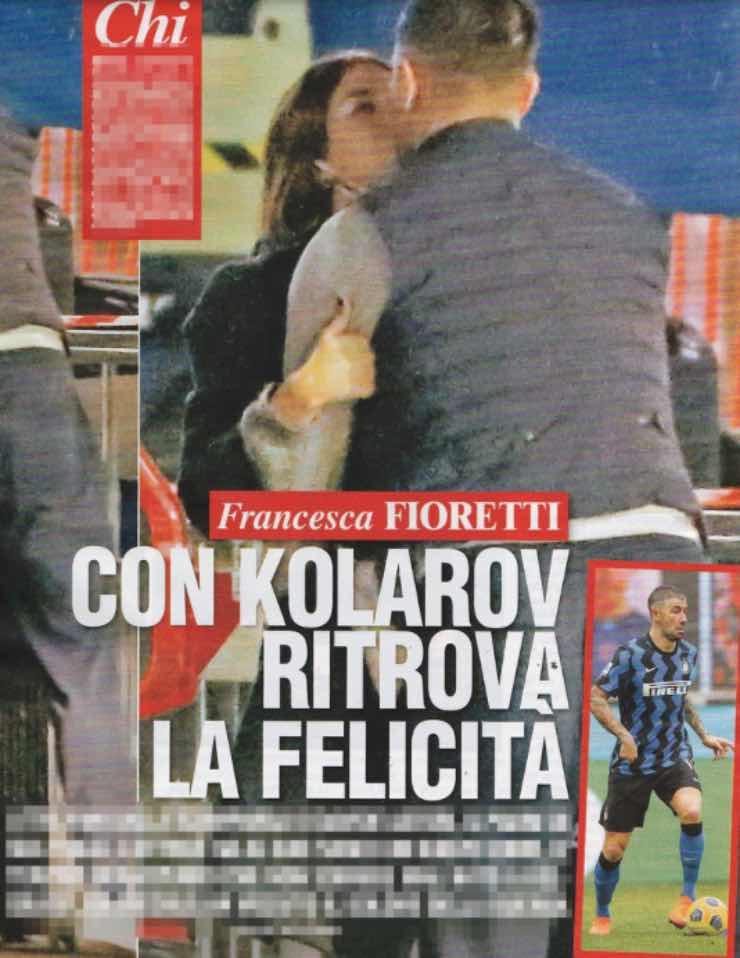 Francesca Fioretti, dopo il lutto di Astori: effusioni con un calciatore