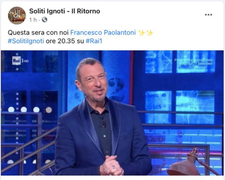 """Francesco Paolantoni """"coronato il sogno"""": quel retroscena del passato"""