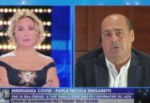Zingaretti D'Urso