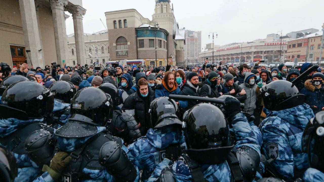 Caso Navalny: in manette anche la moglie Yulia