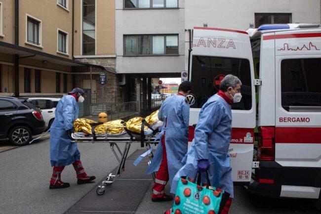Croce Rossa italiana, immagini di repertorio (Getty Images)