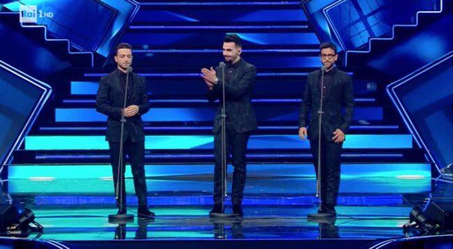 Sanremo 2021, Il Volo sul palco dell'Ariston: forti emozioni