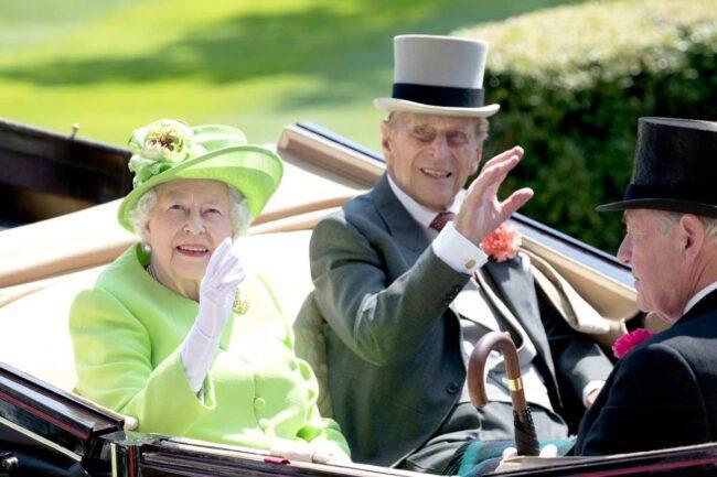 Elisabetta II e il Principe Filippo di Edimburgo (Getty Images)