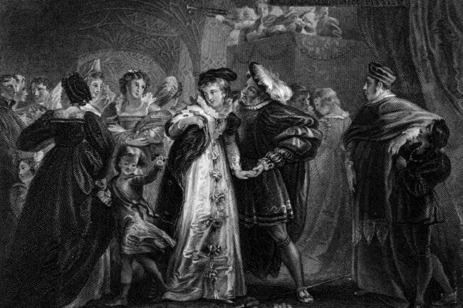 Enrico VIII e Anna Bolena (GettyImages)